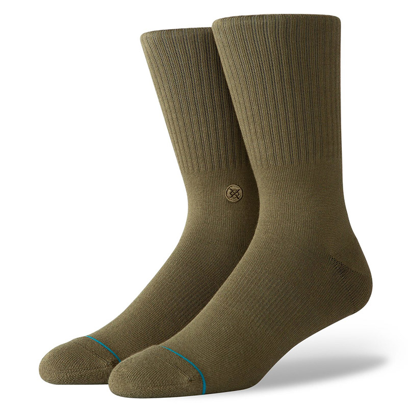 Stance Icon Socks Army