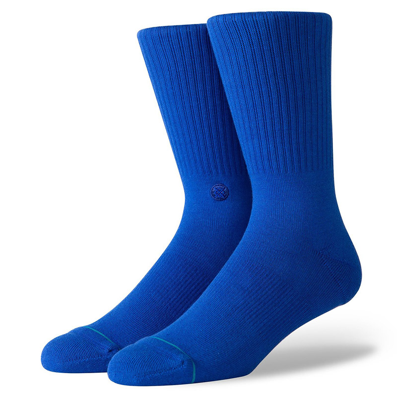 Stance Icon Socks Cobalt Blue
