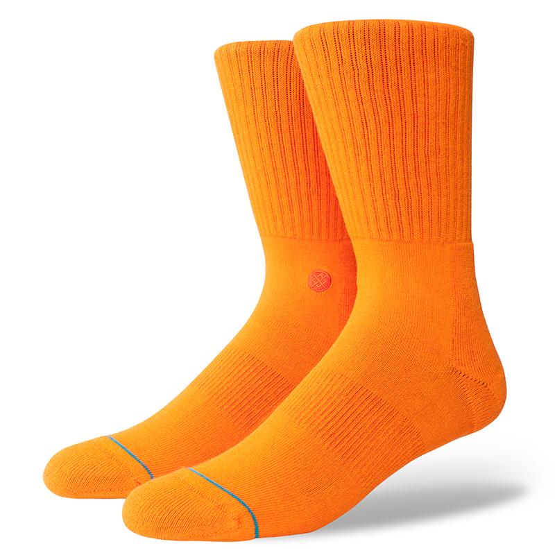 Stance Icon Socks Orange