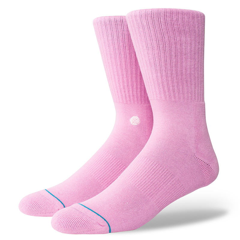 Stance Icon Socks Saturated Pink