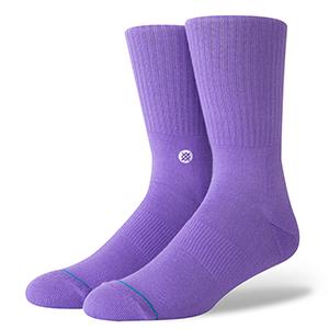 Stance Icon Socks Violet