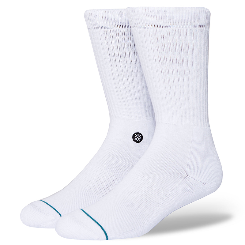 Stance Icon Socks White/Black