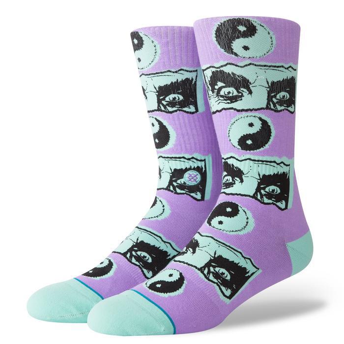 Stance Inner Healing Socks Violet L - Skatestore.nl