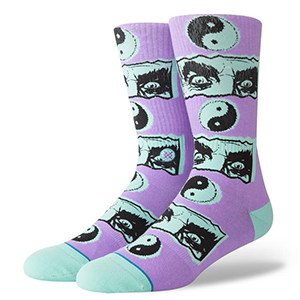 Stance Inner Healing Socks Violet