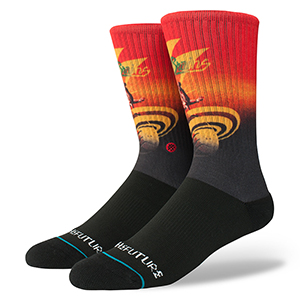 Stance Into The Future Socks Black