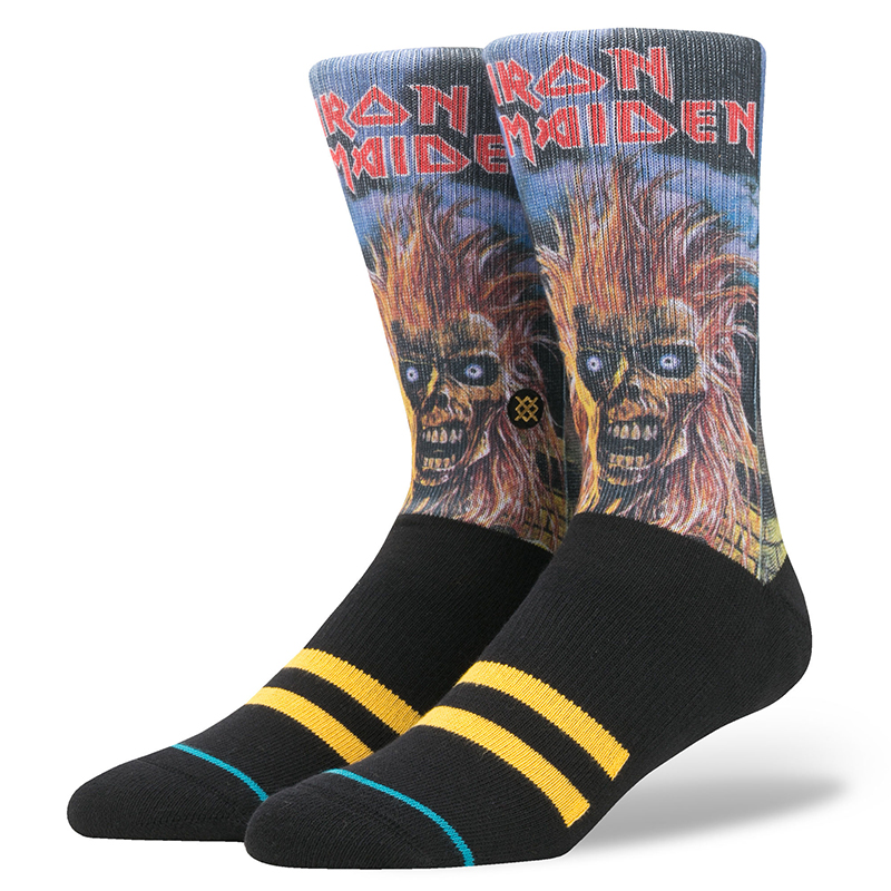 Stance Iron Maiden Socks Black