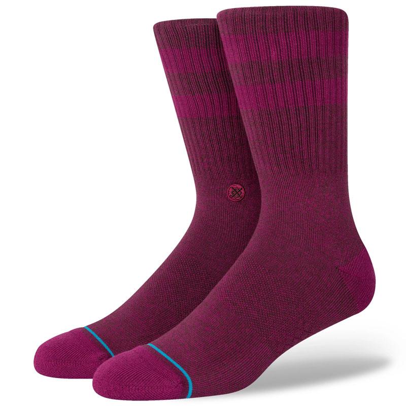 Stance Joven Socks Maroon
