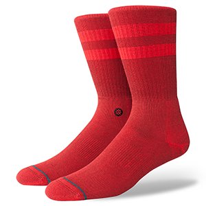 Stance Joven Socks Primary Red