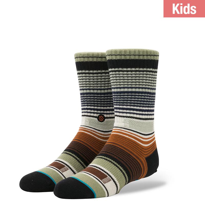 Stance Kids Hatchets K Socks Green