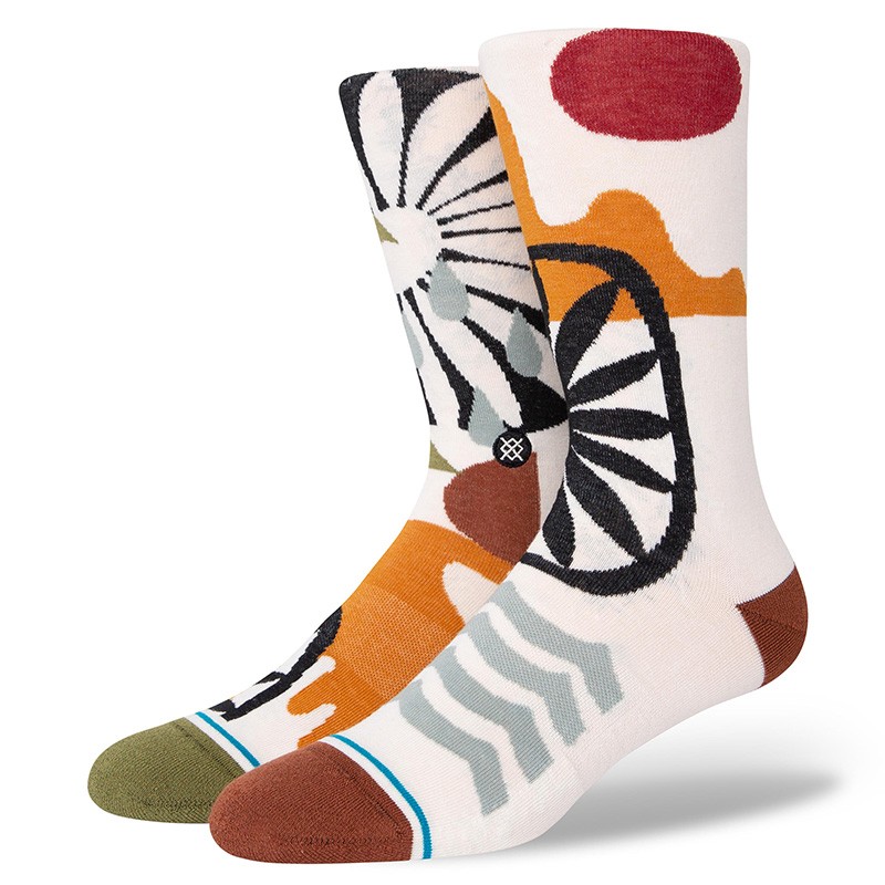 Stance Land And Sea Socks Offwhite