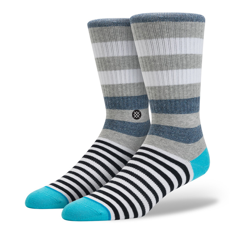 Stance Launch Socks Grey