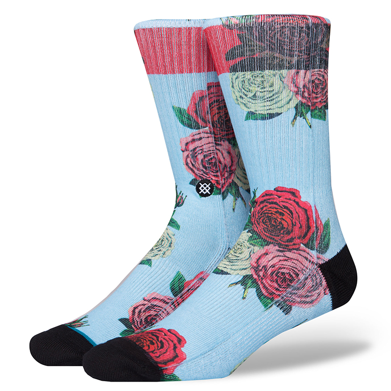Stance Libertine Rose Socks Multi