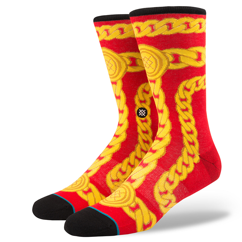 Stance Linx Socks Red