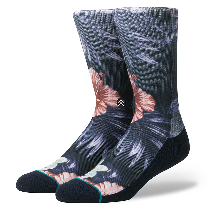 Stance Lounge Bird Socks Navy