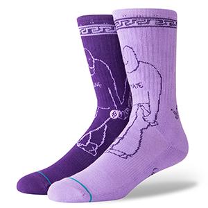 Stance Love Hate Socks Purple