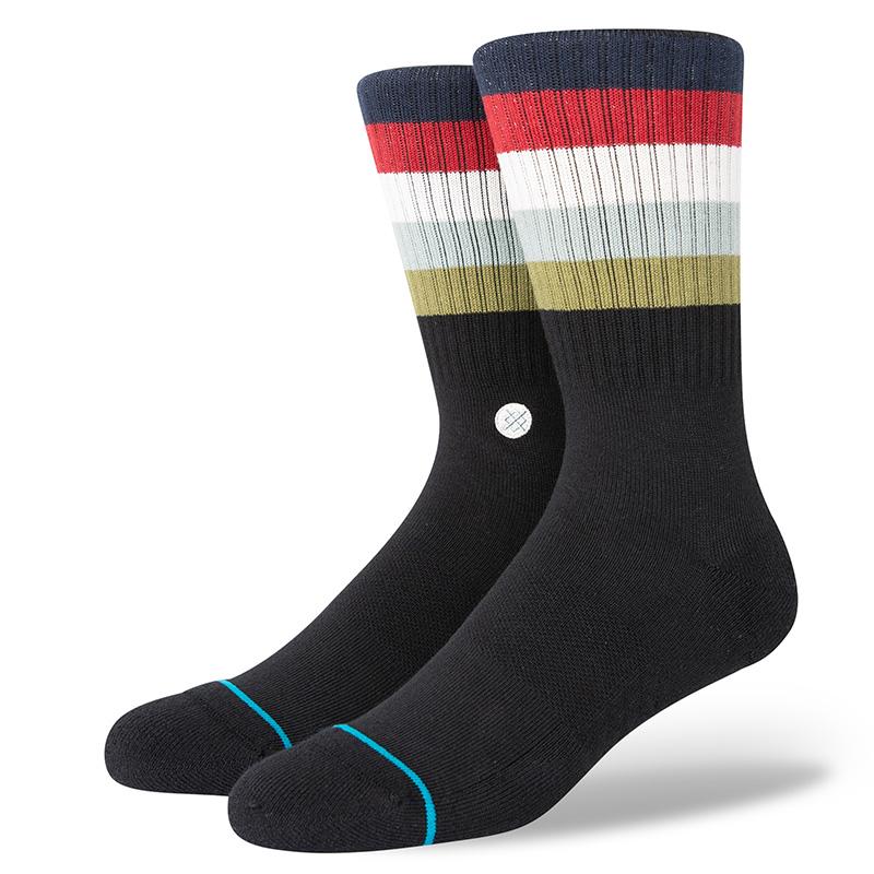 Stance Maliboo Socks Blackfade