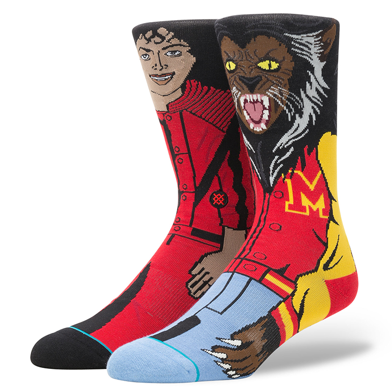 Stance Michael Jackson Socks Red