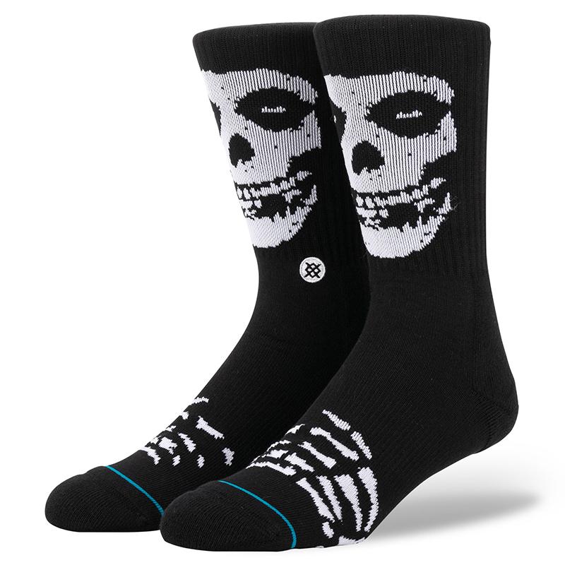 Stance Misfits Socks Black