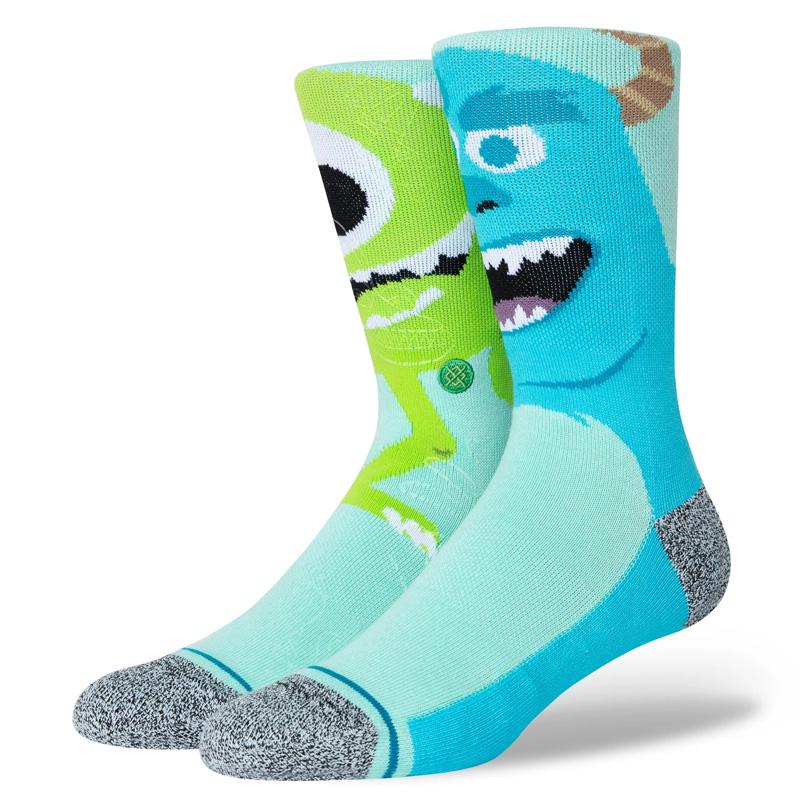 Stance Monstropolis Socks Turquoise