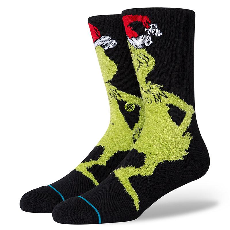 Stance Mr Grinch Socks Black