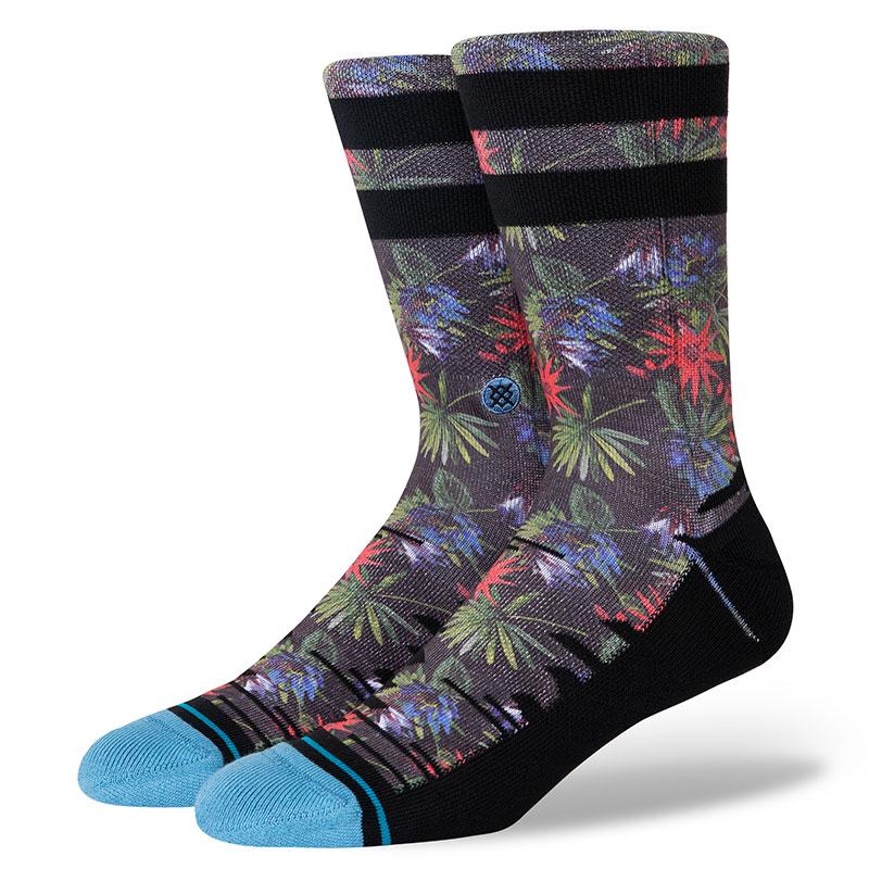 Stance Narcosy Crew Socks Black