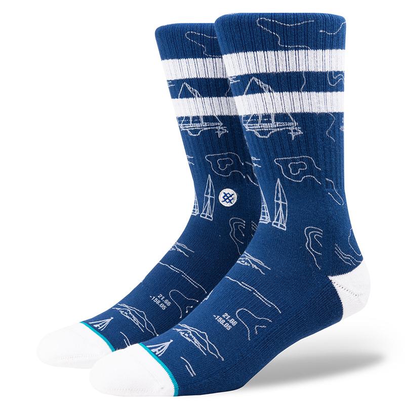 Stance Navigator Socks Blue