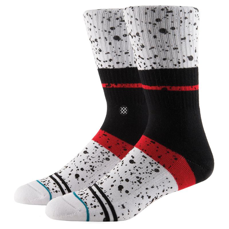 Stance Nero Socks White