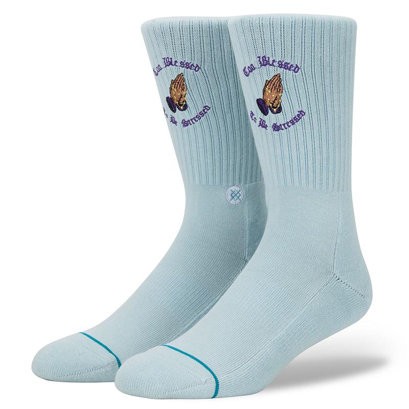 Stance No Stress Socks Blue