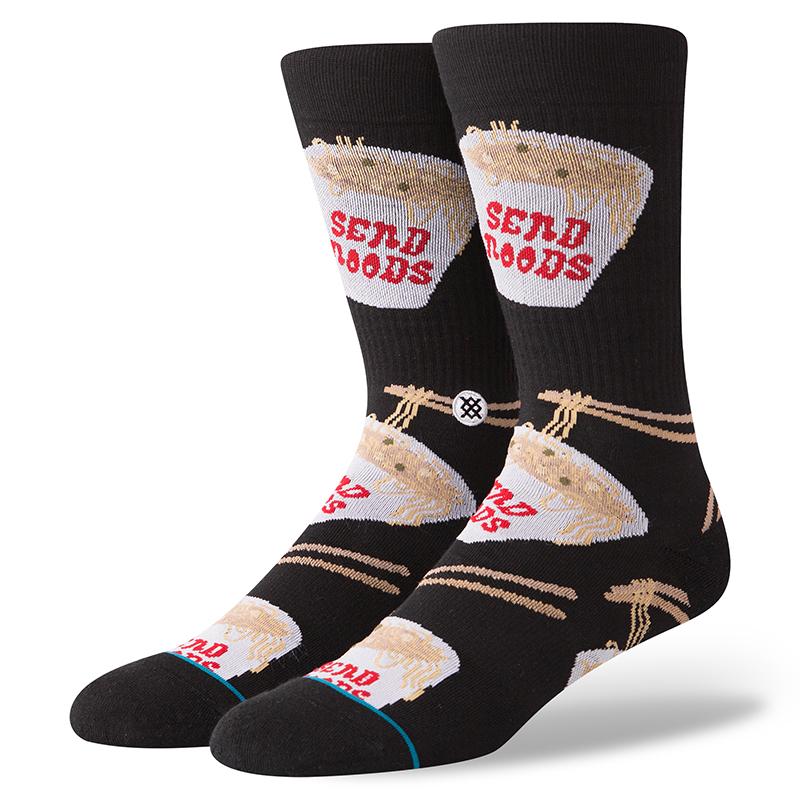 Stance Noods Socks Black