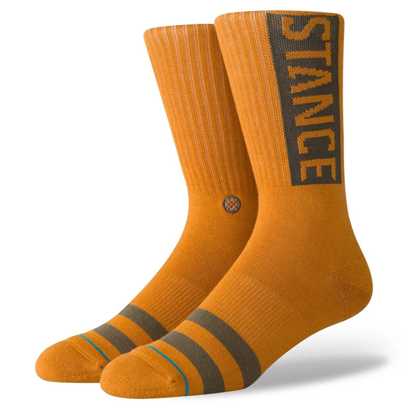 Stance Og Socks Dark Khaki