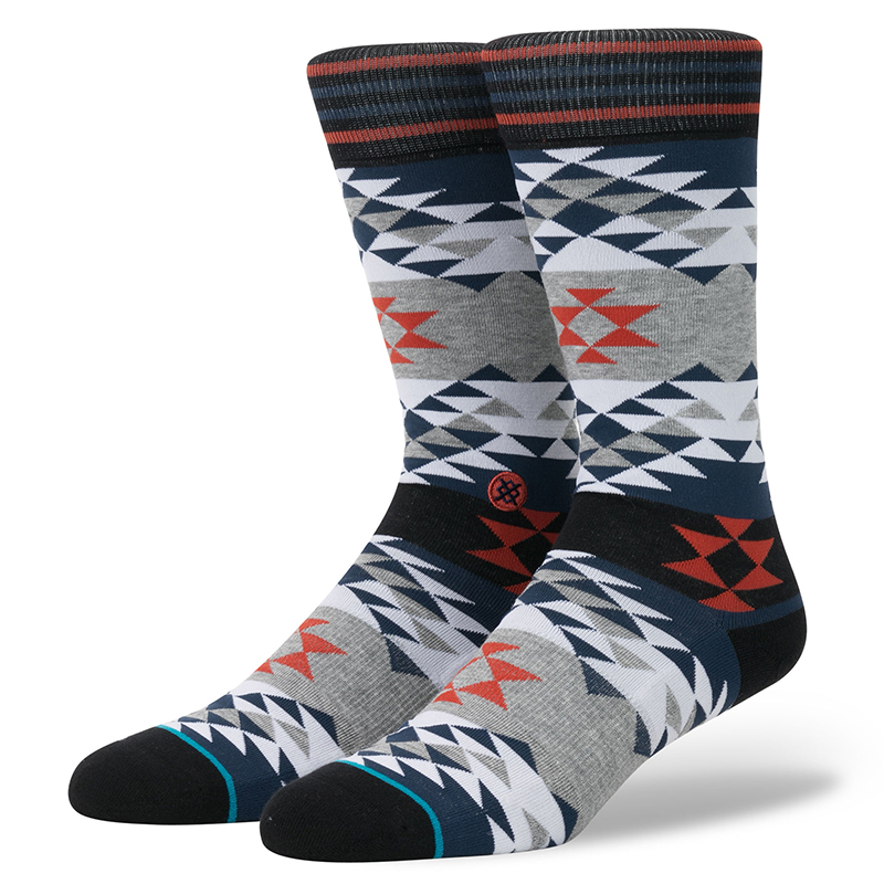 Stance Old Mans Socks Blue