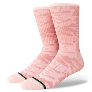 Stance Pixel Socks Desert Pink