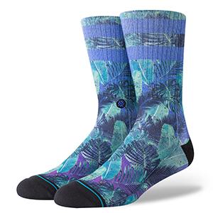 Stance Pop Palms Socks Blue