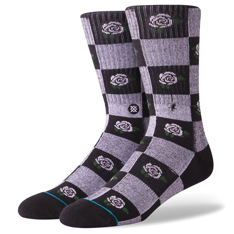 Stance Rose Budz Socks Black