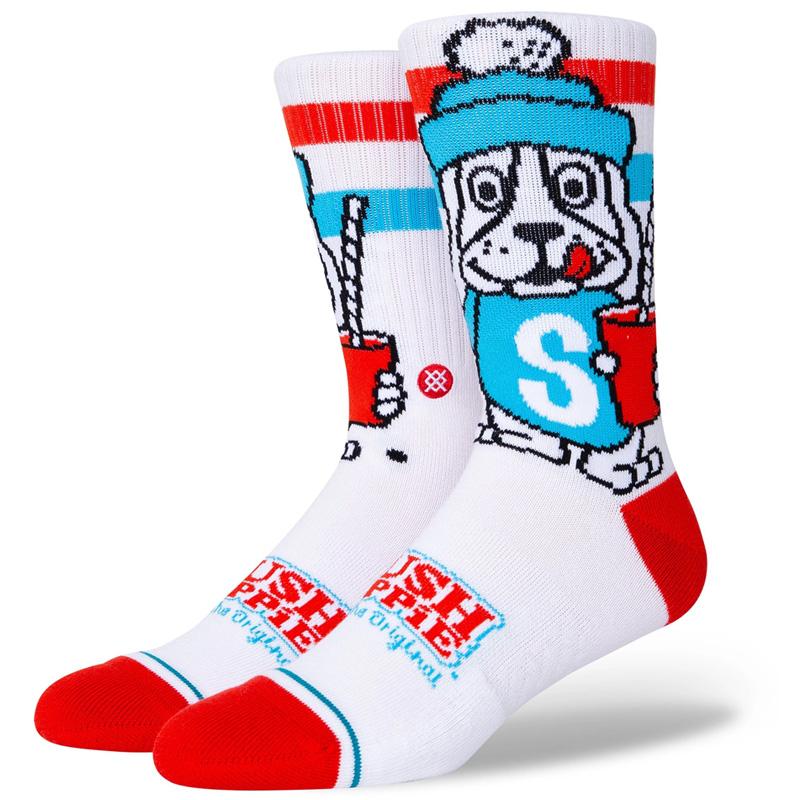Stance Slush Puppie Socks White