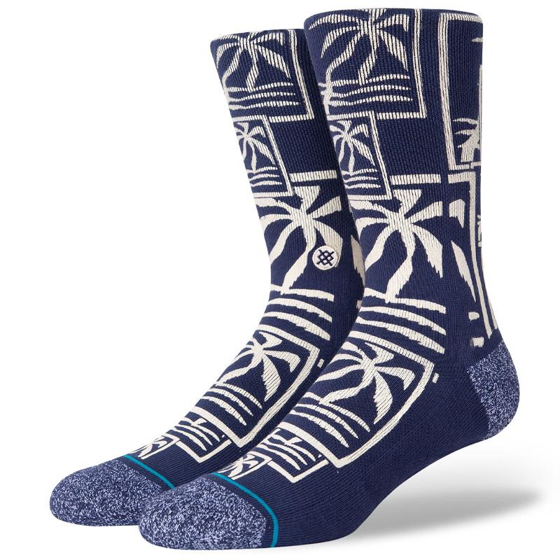 Stance Squall Socks Navy