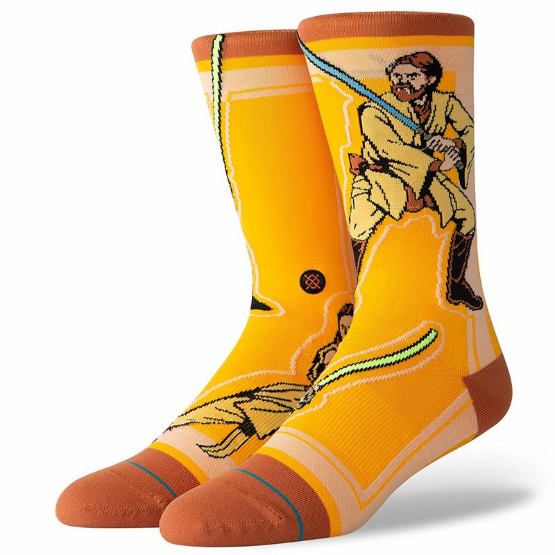 Stance Star Wars Jedi Socks Yellow