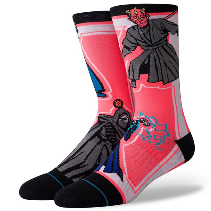 Stance Star Wars Sith Socks Black