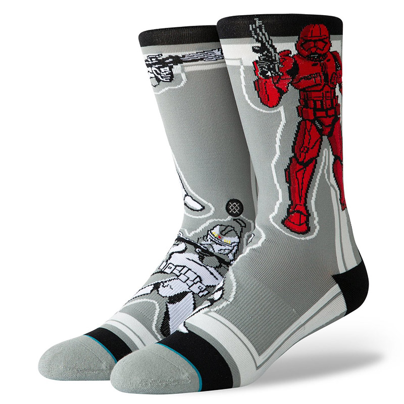 Stance Star Wars Storm Trooper Socks Grey