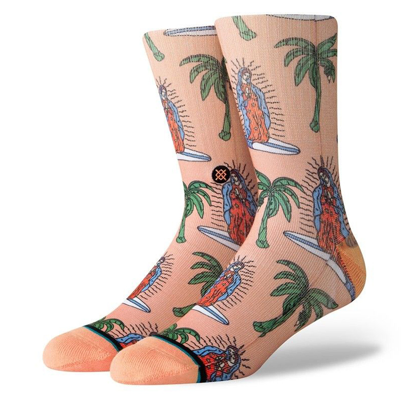 Stance Surfin Guadalupe Socks Melon