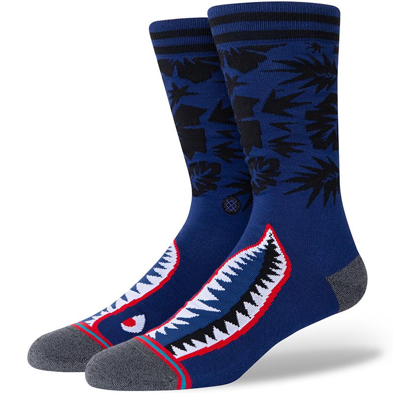 Stance Tropical Warbird Socks Blue