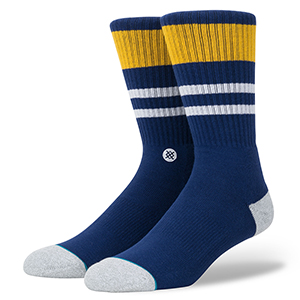 Stance Try Outs Socks Navy