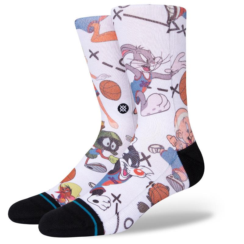 Stance Tune Conversational Socks White