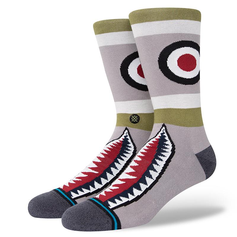 Stance Warbird Socks Green