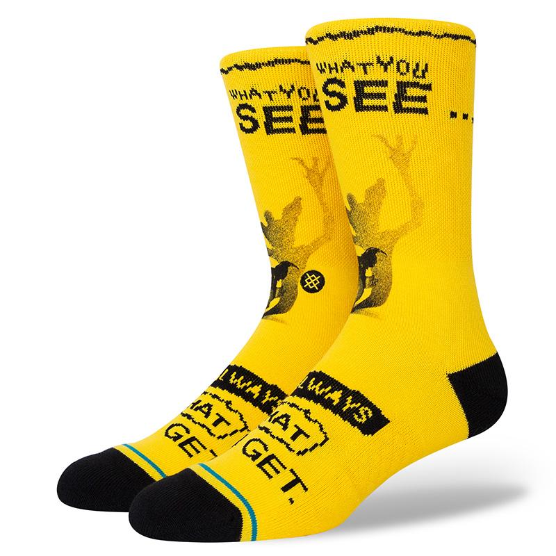 Stance Gremlins What You Get Socks Black