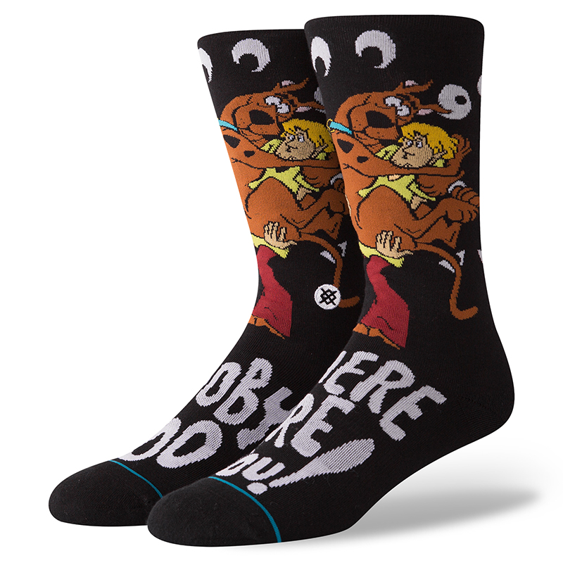 Stance Where Are You Socks Black
