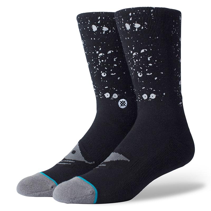 Stance X Lucien Clarke Socks Black