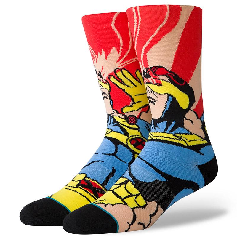Stance X-Men Cyclops Socks Magenta