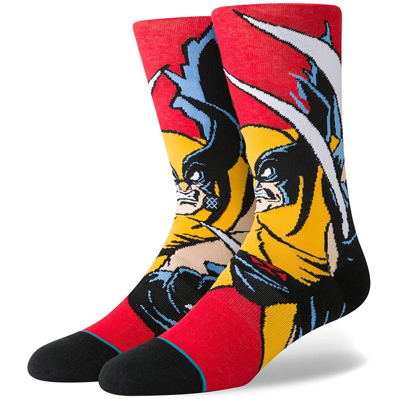 Stance X-Men Wolverine Socks Red