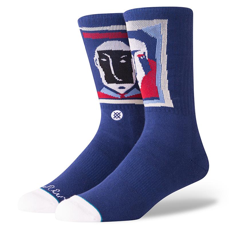 Stance X Polar Face Socks Navy
